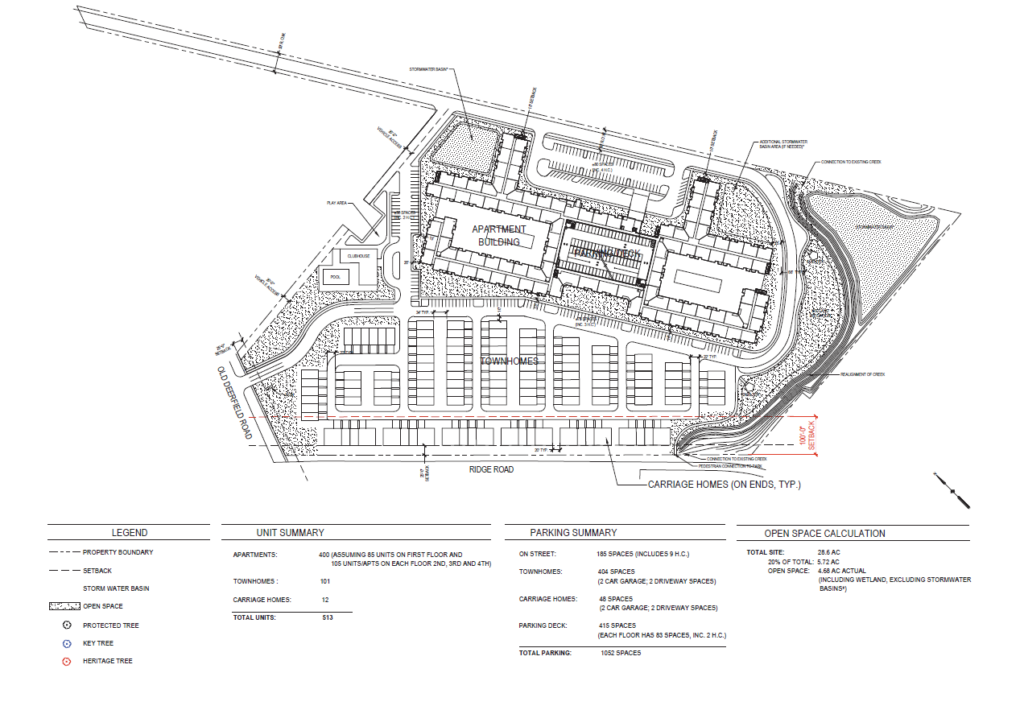 CONCEPTUAL SITE PLAN - ALTERNATIVE B-3
