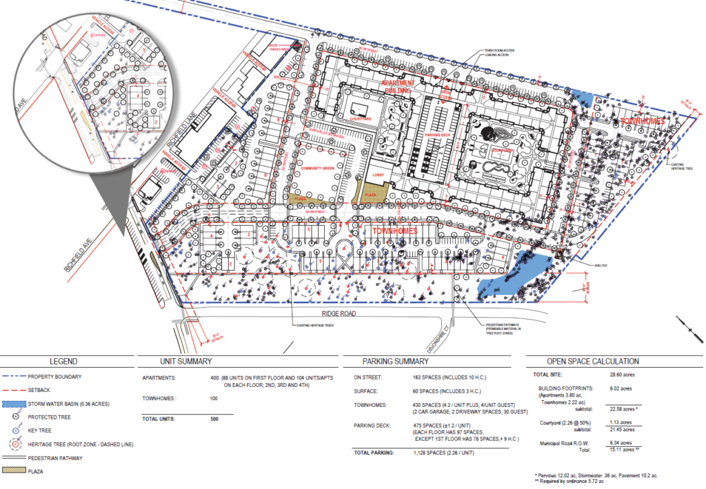 CONCEPTUAL SITE PLAN  APRIL 2019